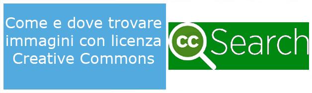 Dove e Come trovare immagini free e gratuire Creative Commons per il vostro sito o Blog