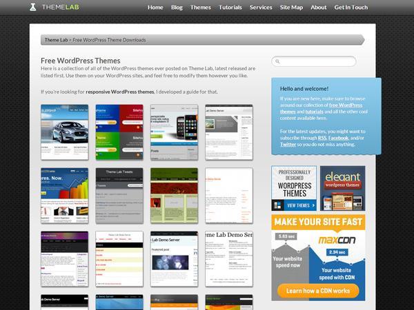 Theme Lab temi wp free