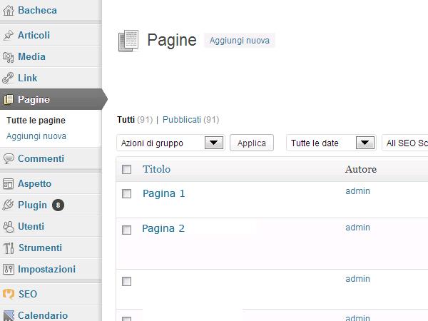 Wordpress-pagine-tutte