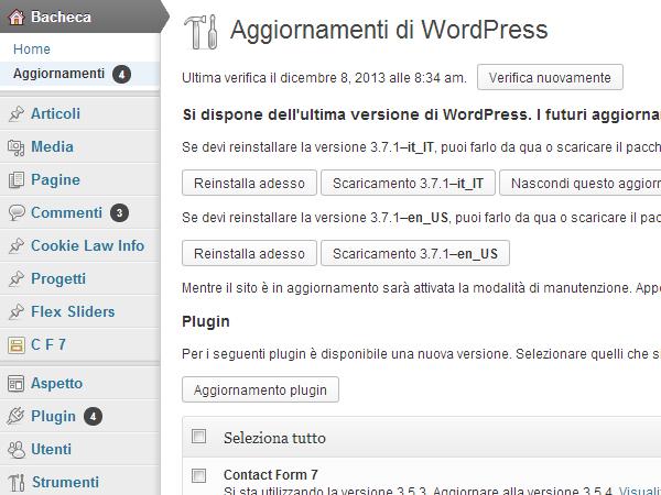 bacheca-wordpress-aggiornamenti
