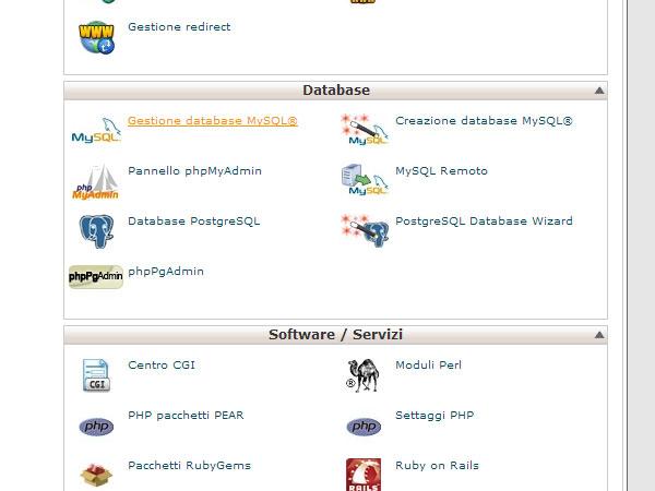 gestione-db-MySQL