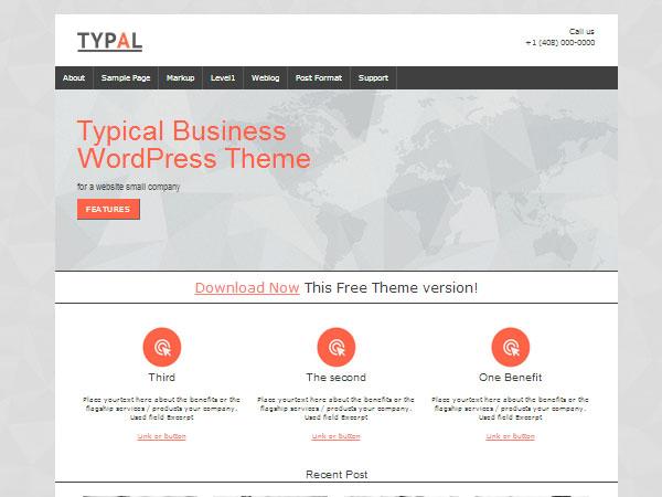 Typal -temi wordpress professionali