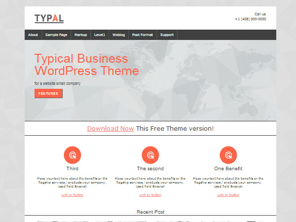 Typal -temi wordpress professionali