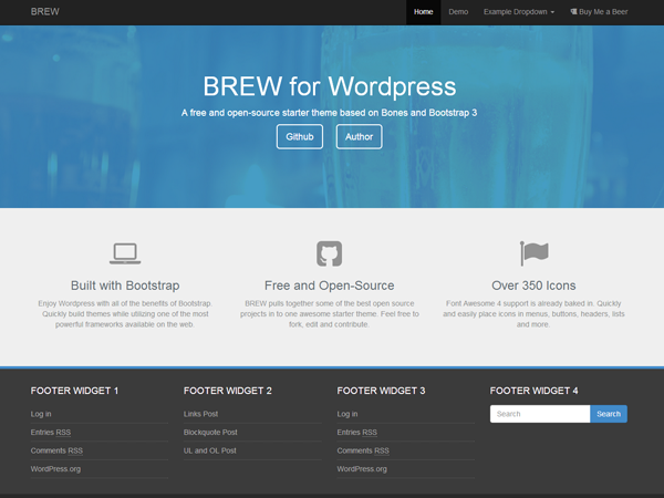 brew-bootstrap-wp-theme