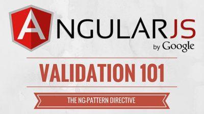 ng-pattern directive